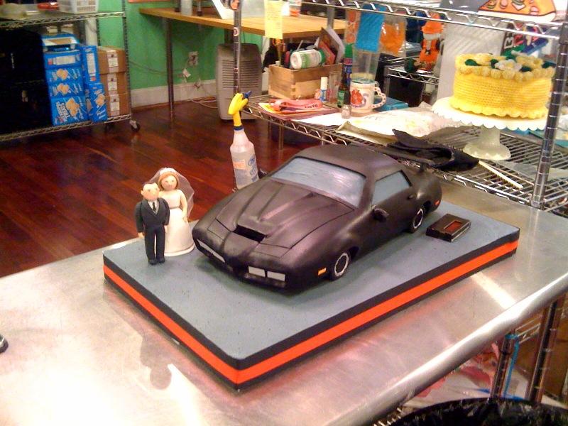 Knight Rider Birthday Cake
